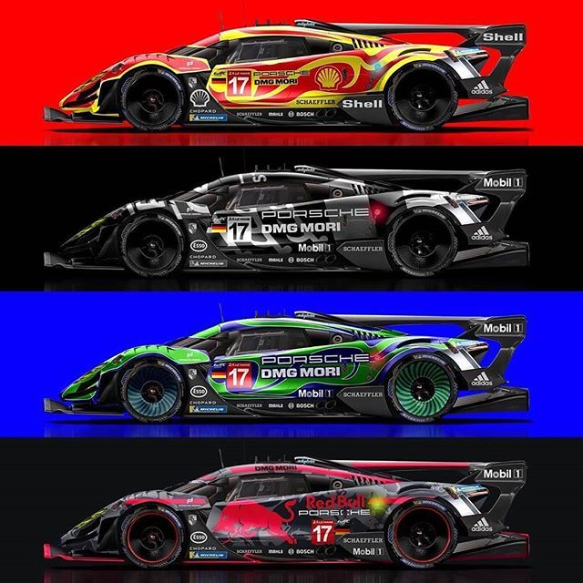 Repost Seanbulldesign Hippy Test Camo Or Red Bull Whats Your Favourite Livery Porsche 917 50 Concept Base Porsche Motorsport Porsche Porsche 917