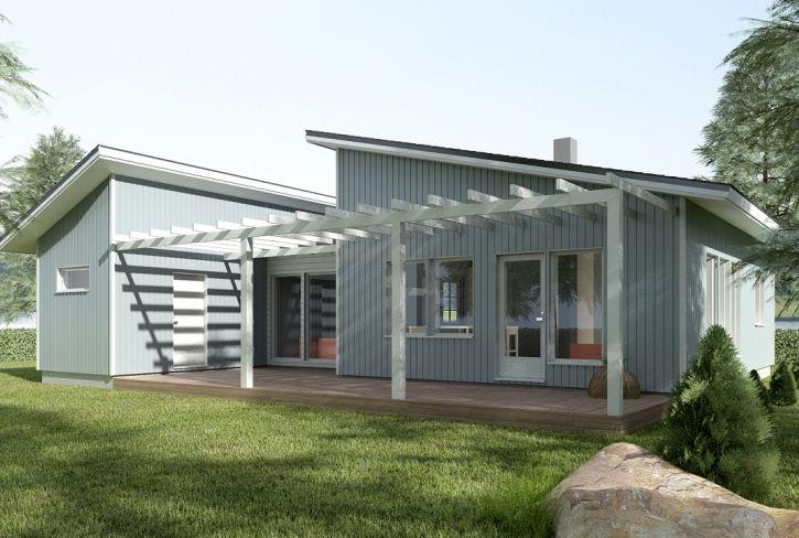 Kylpijän unelma – Joutsenlampi: 80 m², 2 makuuhuonetta