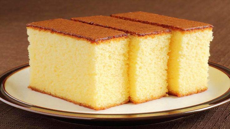 Sponge Cake without Oven    Basic Plain & Soft Sponge cake    w/ Eng. Su...