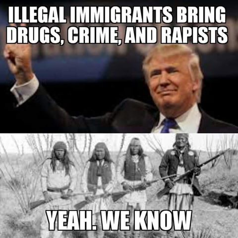 8226b0b94f8f0dd0d97c85f9a7918a5f political quotes native americans best 20 immigration meme ideas on pinterest sorry your leaving,Anti Immigration Memes