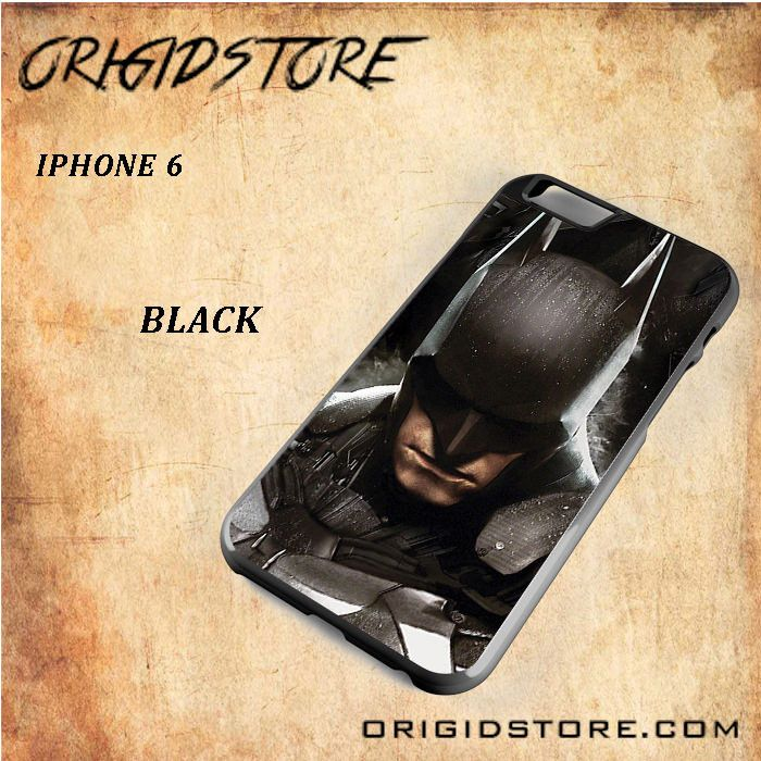 Batman Arkham Knight Mask Black White Snap On Or 3D For Iphone 6