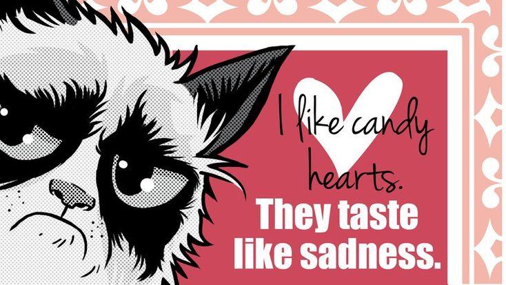 18 Grumpy Cat Valentines for Your Crabby Companion  Cat valentine
