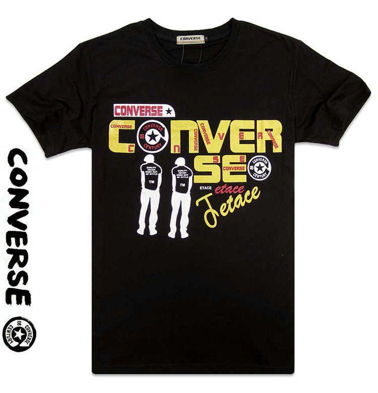 Converse Black Men T shirts CLR 85 Sale $62.60 $51.00 Save: 19% off