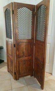 Jali Indian solid wood room divider / screen
