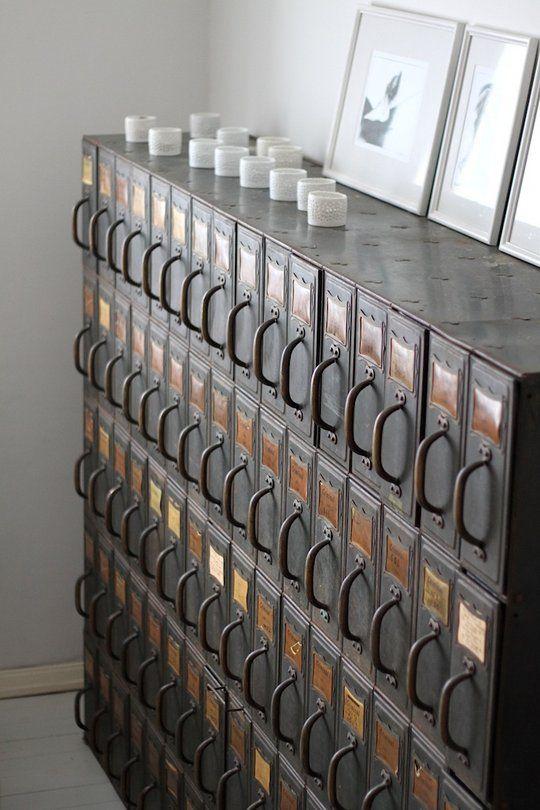 Beautiful medicine/file cabinet