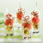 Se cerchi un antipasto sfizioso, originale e dal gusto accattivante, scopri la ricetta della bruschetta in bicchierino con lardo di Colonnata di Sale&Pepe.