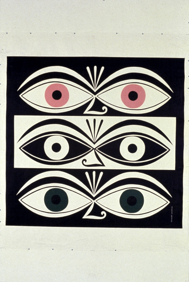 Triple Eyes by Alexander Girard