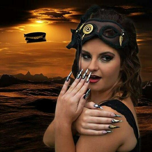 3rd Place Steampunk Photographic Competition.  2015 Nailympia Sydney