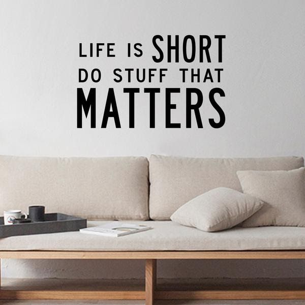 16 Short Inspirational Quotes For Office Inspirational Quote Vinyl Wall Art Deca In 2020 Short Inspirational Quotes Inspirational Quotes Inspirational Quotes Posters