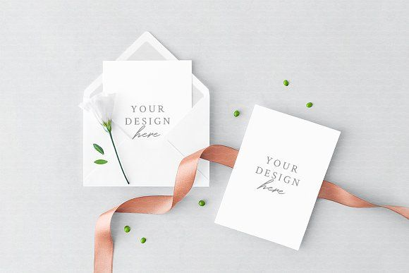 Greeting Card Envelope Mockup Greeting Card Envelope Stationery Mockup Wedding Templates