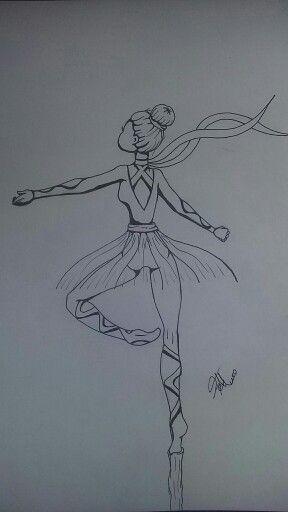 Bailarina creativa Dibujo ideas