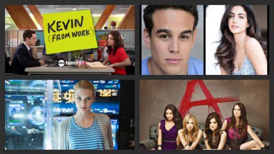 Novità in casa ABC Family con i trailer di Pretty Little Liars, Kevin From Work e Stitchers e due nuovi ingressi nel cast di Shadowhunters