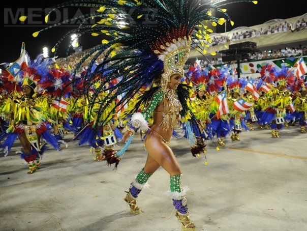 Carnavalul de la Rio de Janeiro a inceput