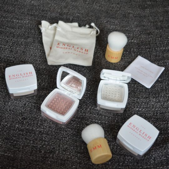 Introducing the English Mineral Make Up Company - #Rosacea #bbloggers
