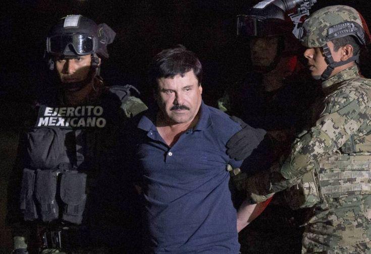 Joaquín Guzmán Loera, El Chapo, poco después de su detención en enero pasado.