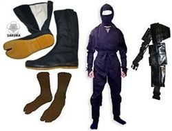 Martial Arts Uniform Real Ninja Ninjutsu Shinobi Warrior uniform or Halloween outfit suit costume