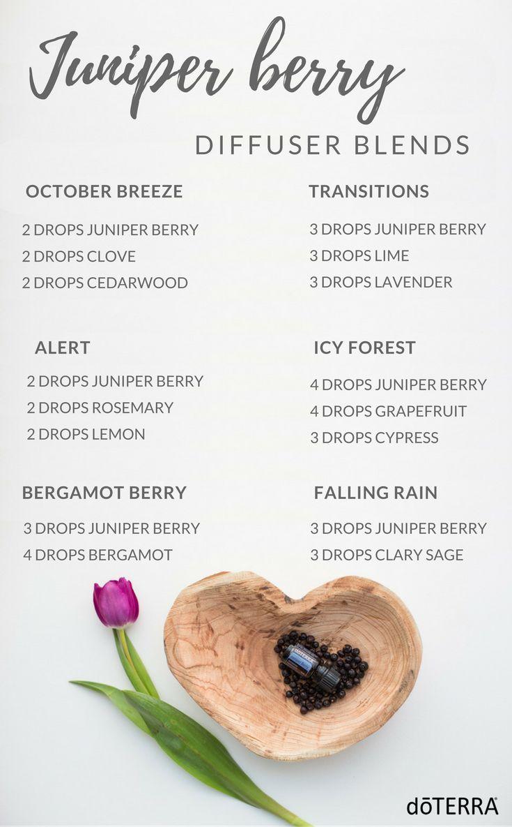 Juniper Berry Diffuser Blends Clove Essential Oil Diffuser Blends