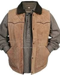 Image result for mens leather sleeveless jacket