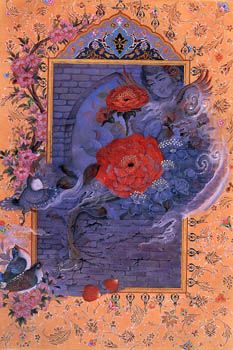 Persian miniature by Zahra Namvar