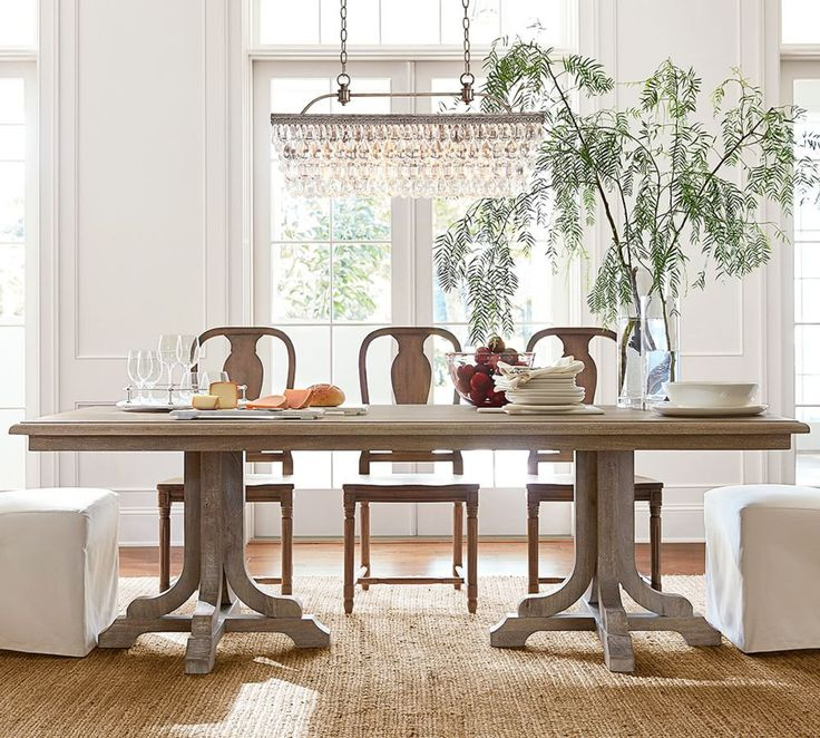 Pottery Barn Dining Room Lamp: Best 25+ Rectangular Chandelier Ideas On Pinterest