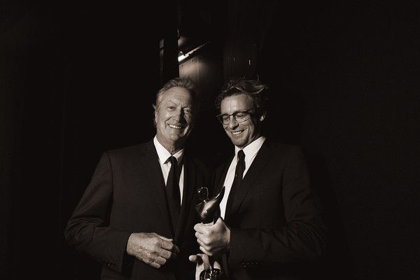 Simon Baker Photos - Image was altered with digital filters.) Simon Baker is presented with the Trailblazer Award during the 7th AACTA Awards Presented by Foxtel at The Star on December 6, 2017 in Sydney, Australia. - 7th AACTA Awards Presented by Foxtel | Backstage