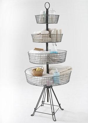 4 Tier Wire Basket Basket Beauty Pinterest Storage
