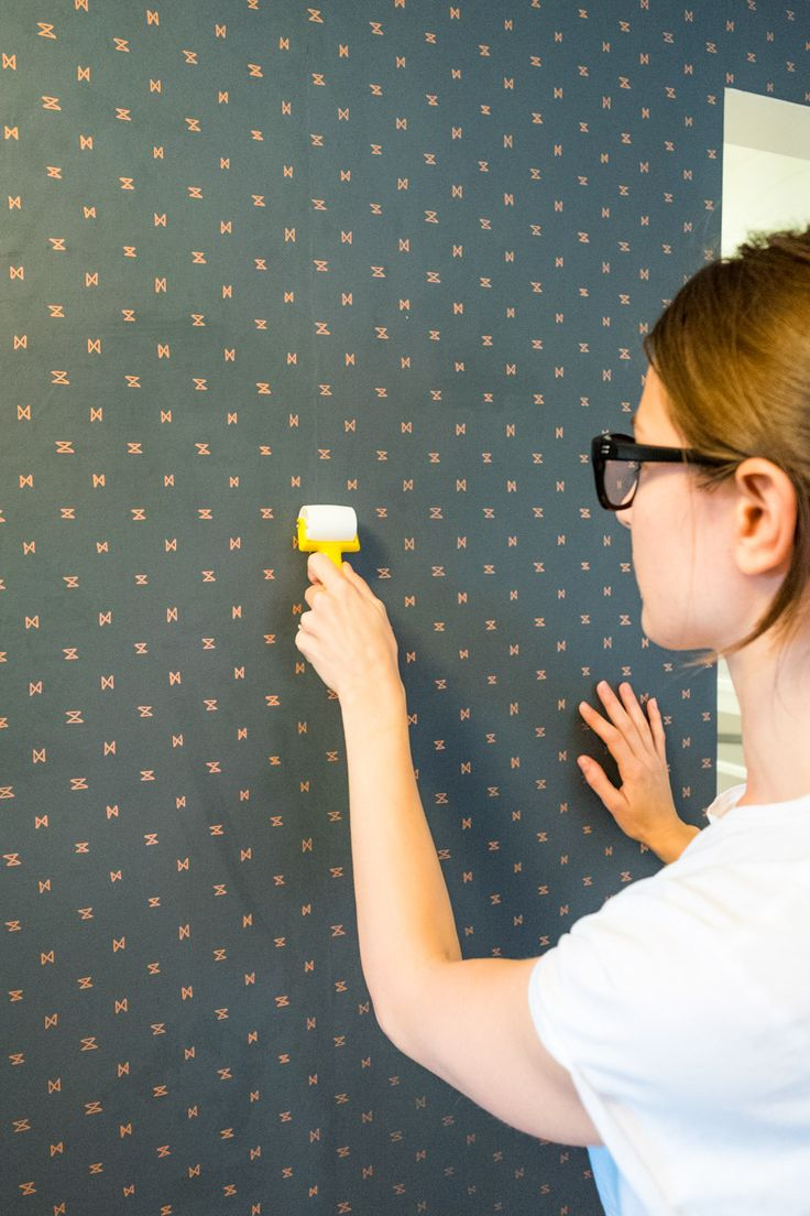 DIY: How to install wallpaper