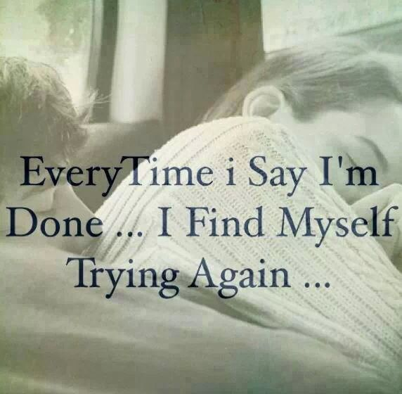 Try try and try again
