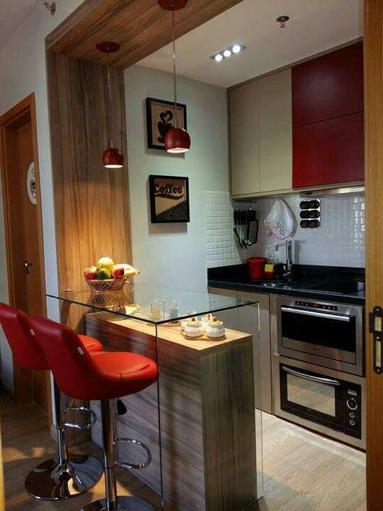 Cozinha pequena Más