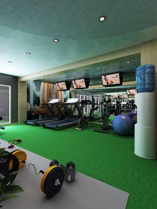 Gym room at The Spa at H Sovereign, Kuta Bali.