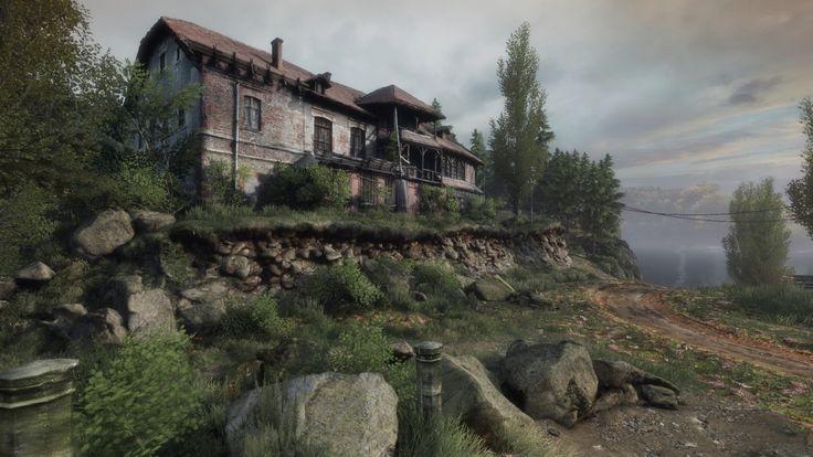 ArtStation - The Vanishing of Ethan Carter, Kamil Wojciekiewicz