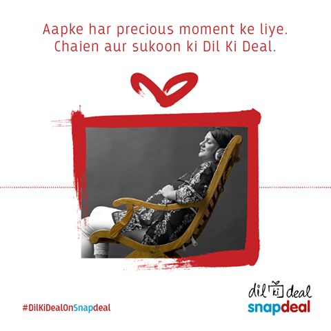Bringing your Dil Ki Deal to your doorstep. ‪#‎DilKiDealOnSnapdeal‬