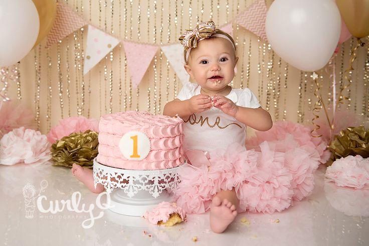 Smashing Princess   Quantico Cake Smash Photographer - Northern VA Newborn-Baby-Child-Family Photographer   Custom Natural and Studio Light Photography