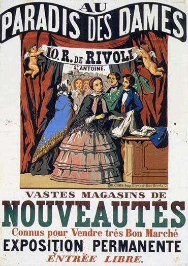 Au Paradis des dames Jean-Alexis Rouchon imprimeur, 1856. BNF.