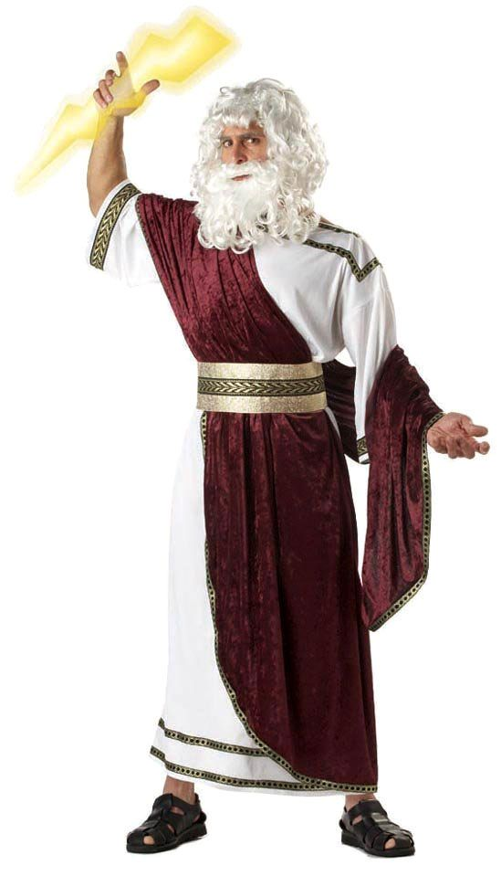Adult Zeus God of the Sky Costume - Greek or Roman Costumes