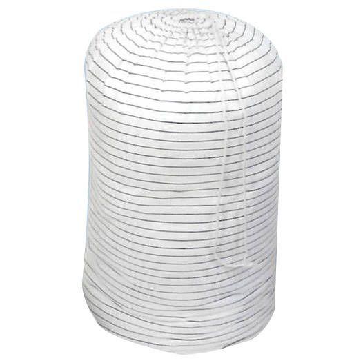 Comforter Storage Bags (Set of 3), White (Cotton)