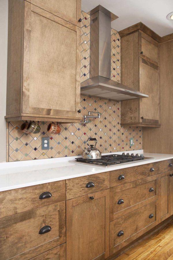 Tiles - Zig Zag with 1″ Mosaic Kitchen | Decorative Tile ...