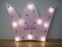 Lampe  rosa Krone für die kleine Prinzessin.. :-)