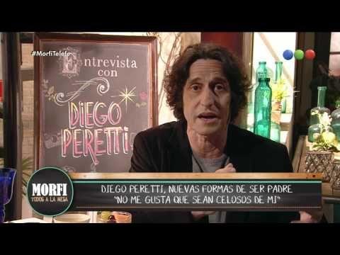 Diego Peretti analizó las nuevas formas de ser padre - Morfi - YouTube