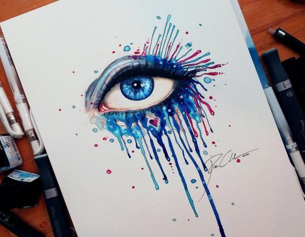 Splash your day - Mind Blowing Eye Art by Svenja Jödicke | Cuded