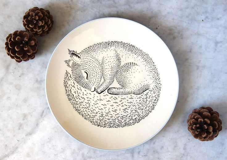 Assiette écureuil Bloomingville - Vaisselle - Mathûvû - Lyon