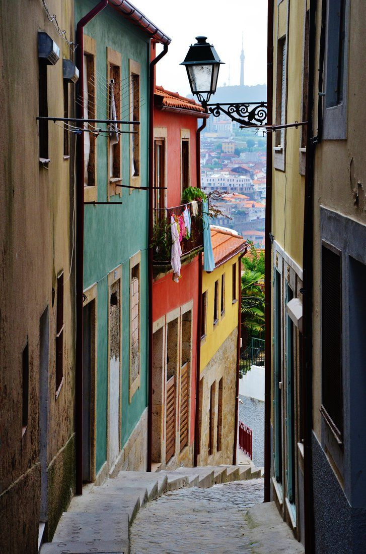 In the seaside city of Porto, Portugal, beautiful surprises are waiting around every corner.