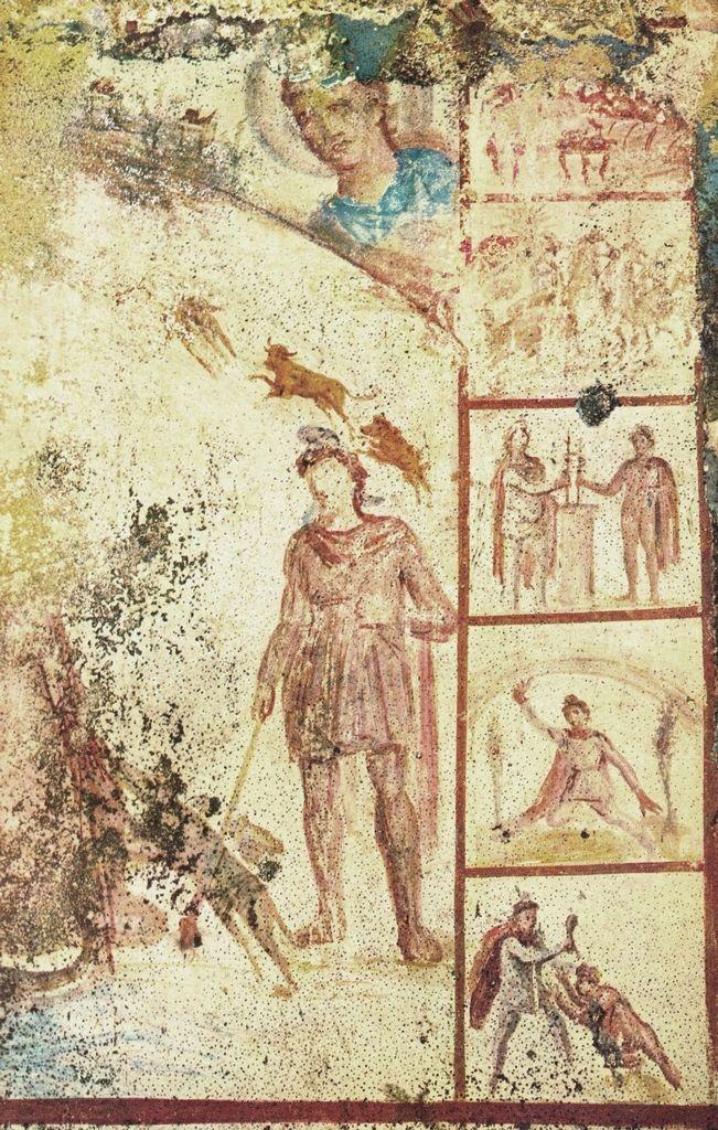 Cosmogonia, III d.C. Mitreo Barberini, Roma. Cultura romana