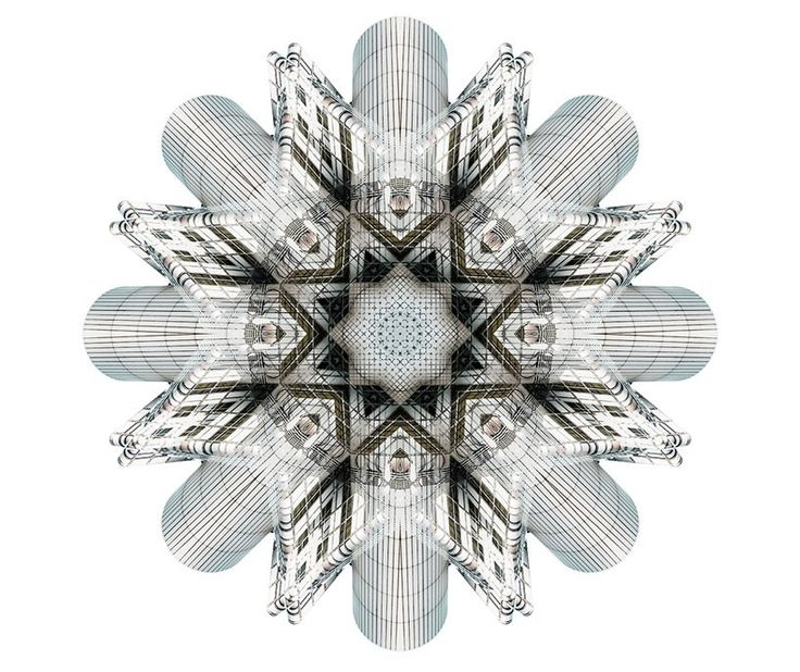 Cory Stevens captura imágenes, las que deconstruye y reacomoda a través de un juego de líneas y fachadas para generar imágenes fragmentadas.