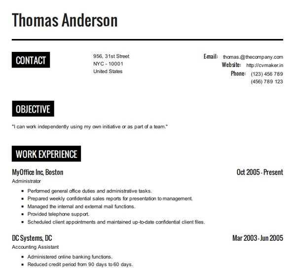 190 best Resume Cv Design images on Pinterest Career consultant - how to create a resume resume