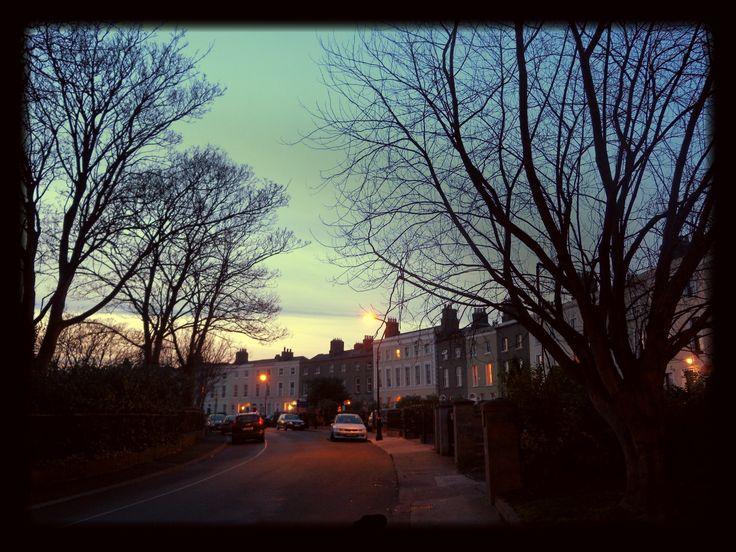 Video of Bram Stoker's Dublin neighbourhood