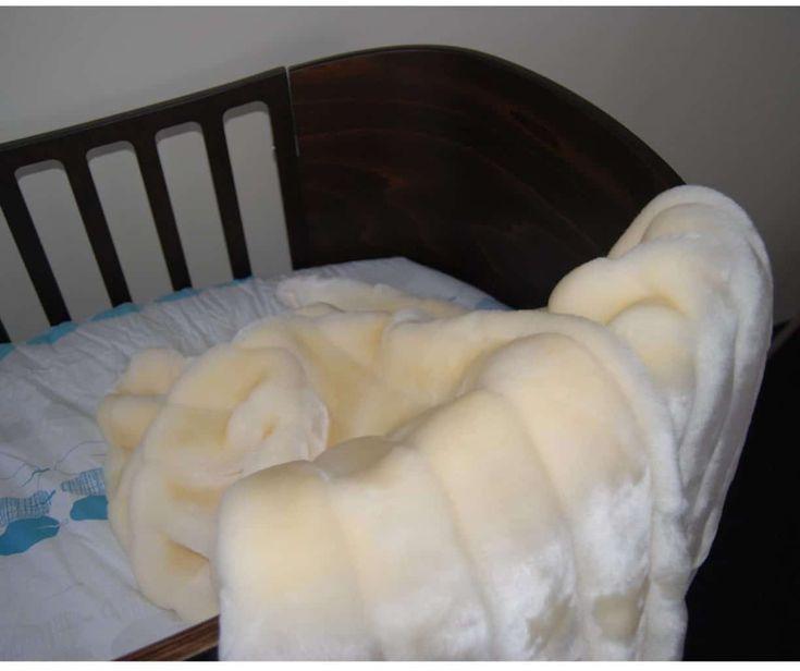 minimink faux fur baby blanket