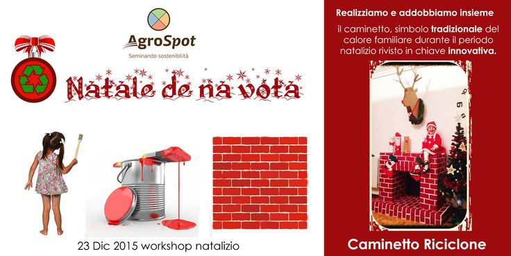 con AgroSpot avrete la possibilità di creare un tradizionale caminetto natalizio ma rivisto in chiave innovativa. Pronti a costruire?