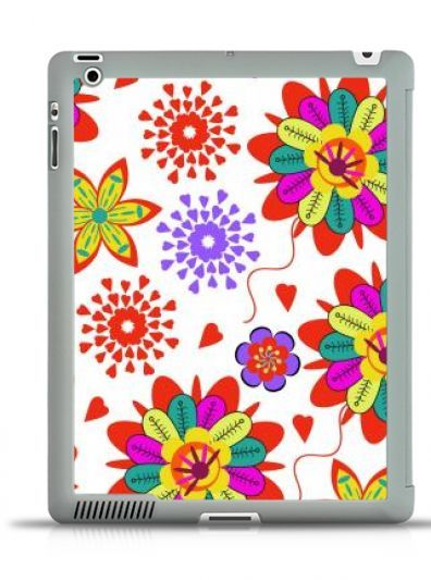 #IPad #3/4 #SMARTCOVER    #floral #ornament #pattern #flowers  #colorful #abstract #ornate #summer #spring #garden