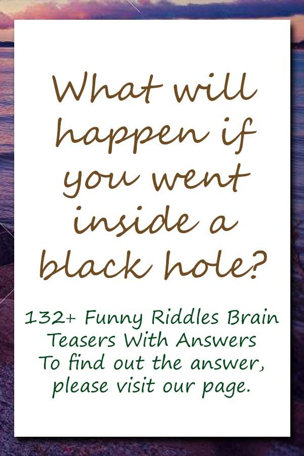 132 Funny Riddles Brain Teasers With Answers In 2020 Funny Riddles Funny Jokes And Riddles Brain Teasers With Answers